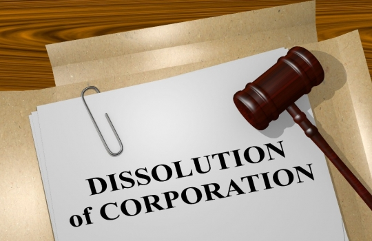 Dissolution and liquidation of a limited liability company